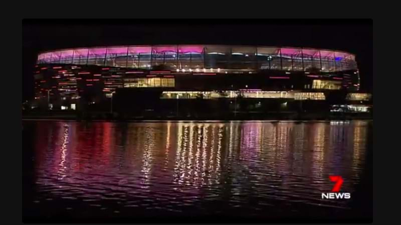 Article heading image for Perth Stadium's Awesome Light System Got An Australian Rocking Workout