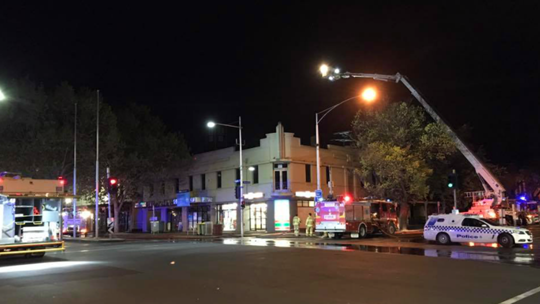 Fears Lygon St Buildings Could Collapse Following Suspicious Fire