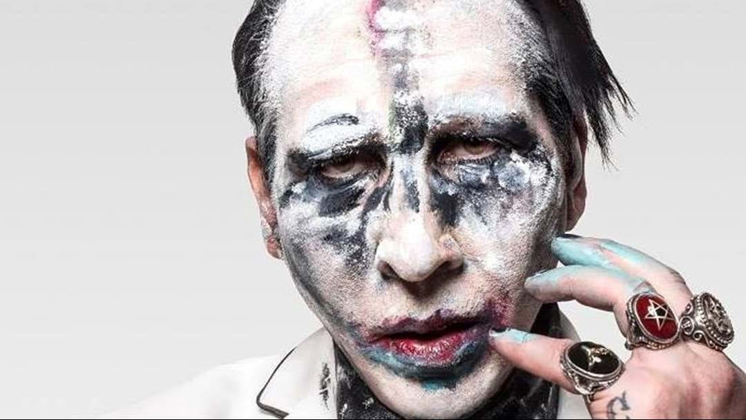 Marilyn Manson Taking Time Off After Stage Injury