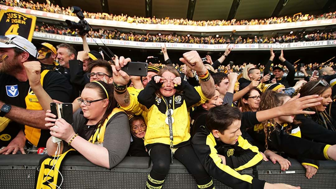 Where Did 2017 Grand Final Crowd Rank In Richmond's History?
