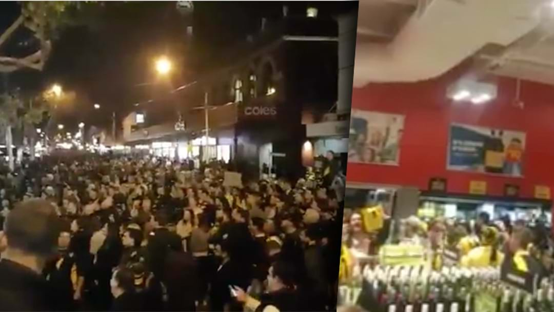 The Reason Swan St Liquorland Had To Close Early On Grand Final Night Revealed