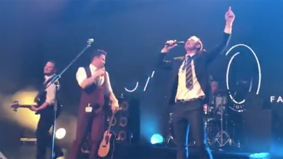 Jack Riewoldt Performed Mr. Brightside AGAIN At Richmond's B&F