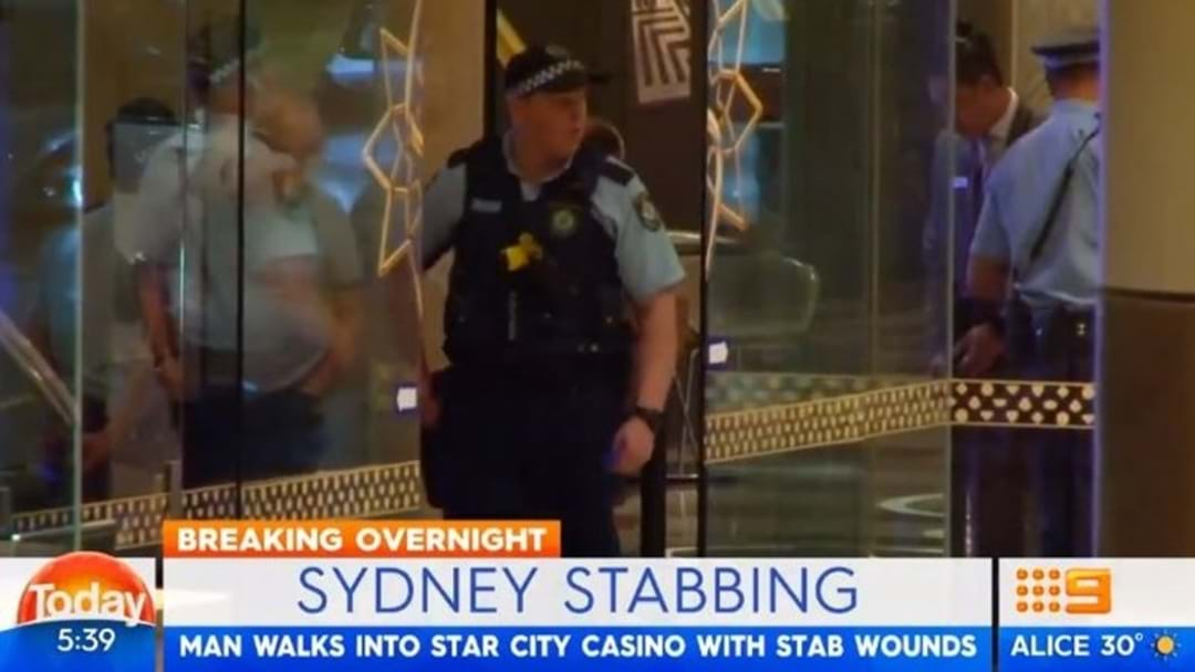 Man Walks Into Star Casino With Stab Wounds