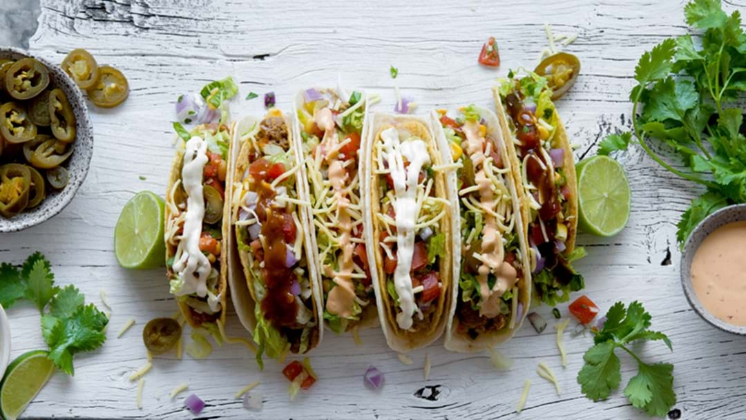 2 For 1 Tacos For Today Only, International Taco Day