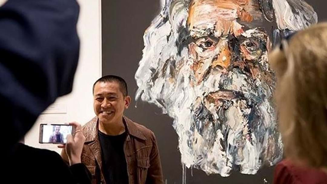 Comedian Anh Do Wins 2017 Archibald Prize People's Choice