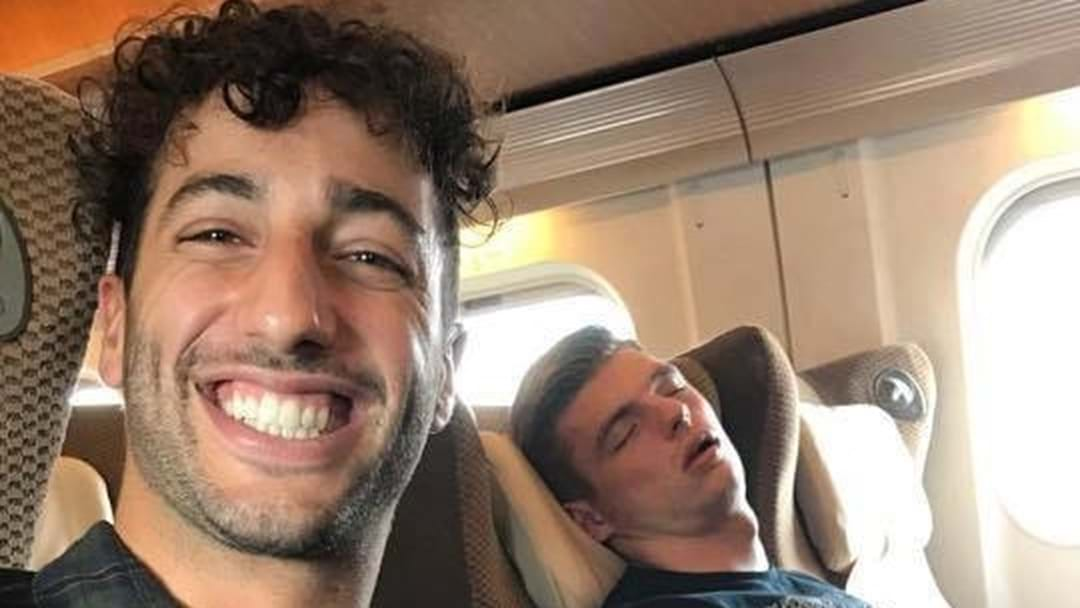 Daniel Ricciardo Hopes To Catch Teammate Napping At Japanese Grand Prix
