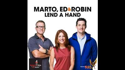Marto, Ed and Robin's Lend a Hand!