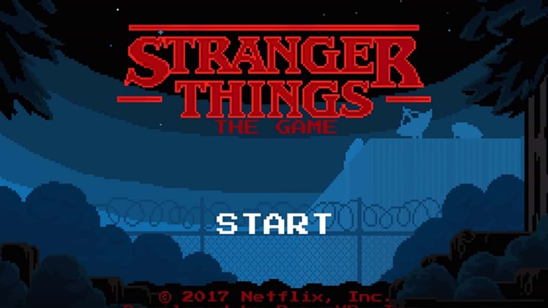 Stranger Things Now Has A FREE Video Game For Your Phone