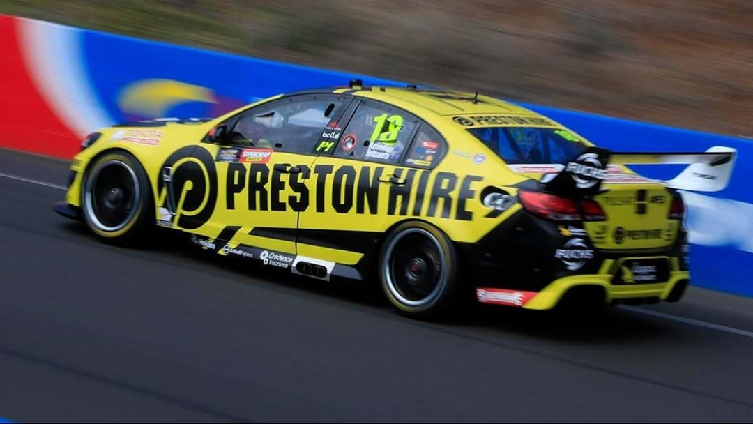Lee Holdsworth Fastest In Bathurst 1000 Warm-Up