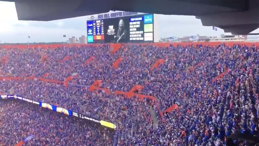 College Football Crowd Belts Out An Epic Rendition Of 'I Won't Back Down'