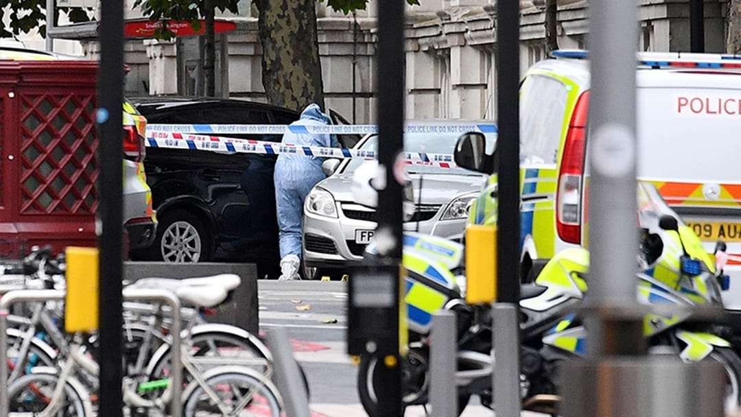 Multiple Injured As Car Mounts Pavement In London