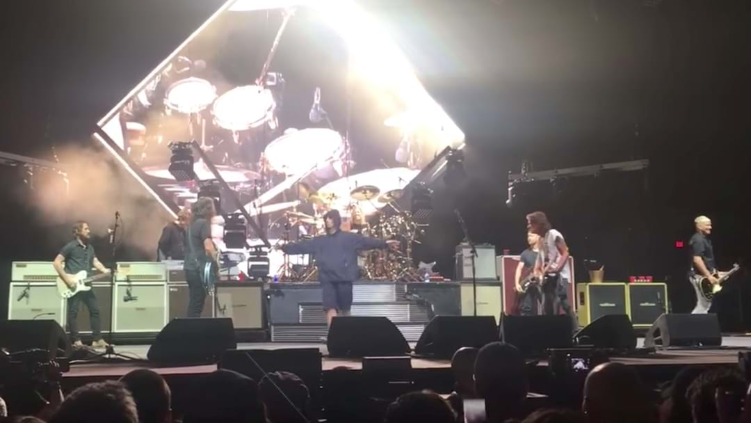 WATCH: Foo Fighters, Liam Gallagher & Joe Perry Perform Beatles Classic