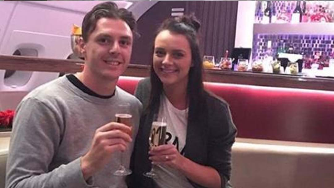 Jake Lever Proposes To Longtime Girlfriend On First-Class Flight To Europe