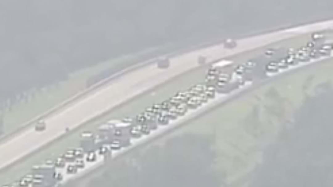Heavy Delays On Logan Motorway Following Multi-Vehicle Crash This Morning
