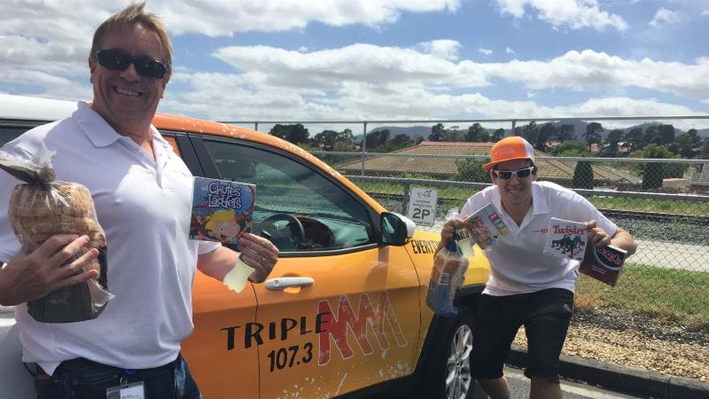 Catch the Triple M Street Patrol and WIN!