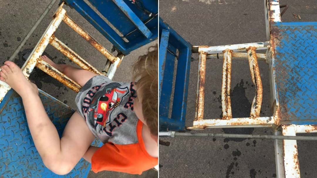 PHOTOS: Boy Rescued After Getting Stuck In Trailer