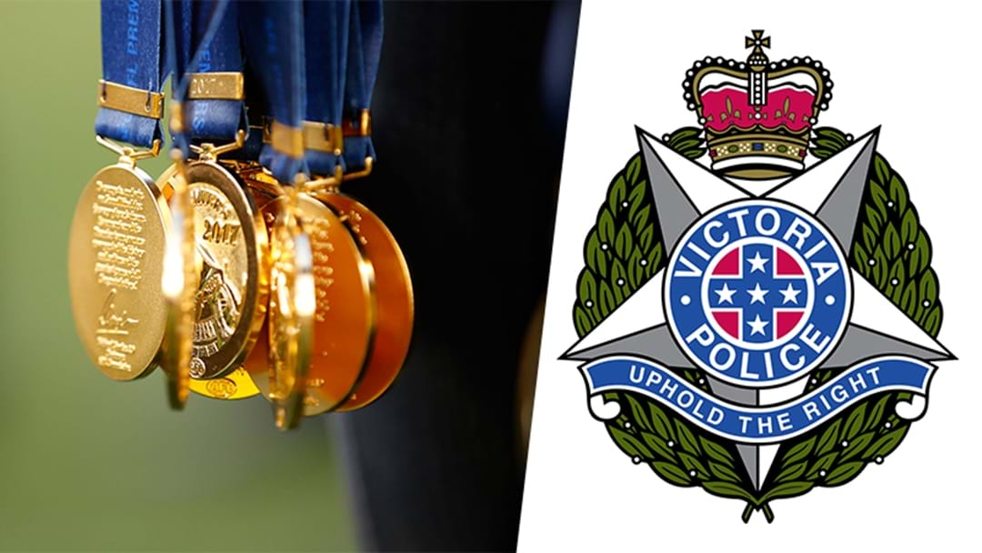 Victoria Police Release Statement For Nude Richmond Medal Photo