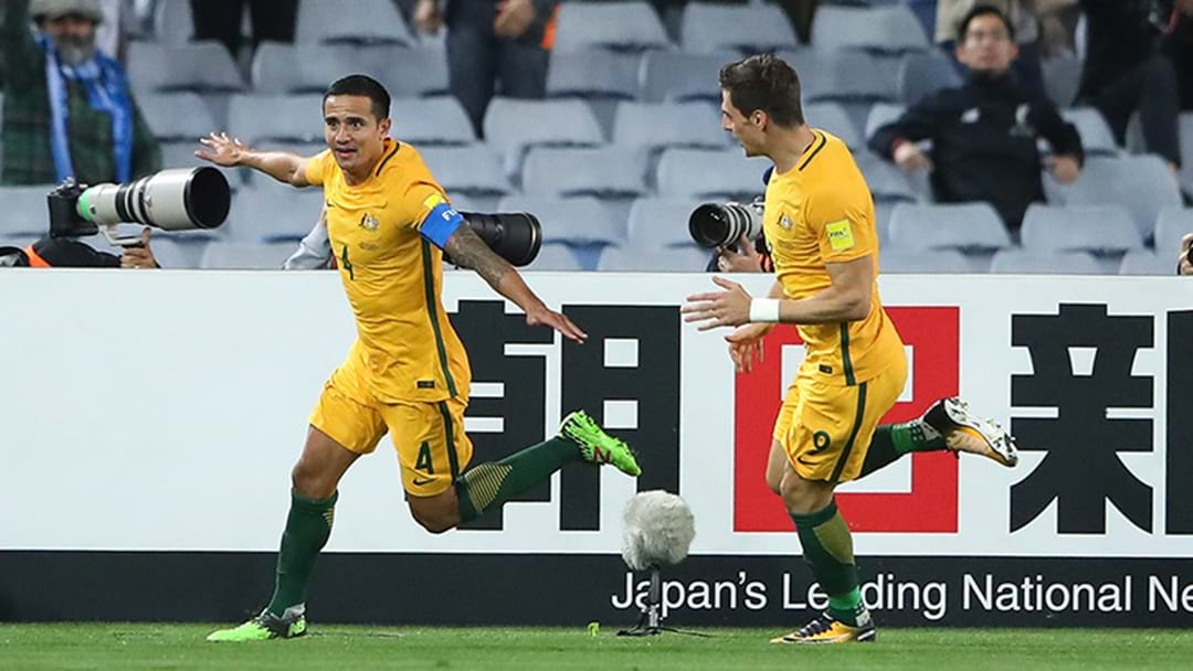 Tim Cahill Used His Goal Celebrations Against Syria To Advertise A Travel Company