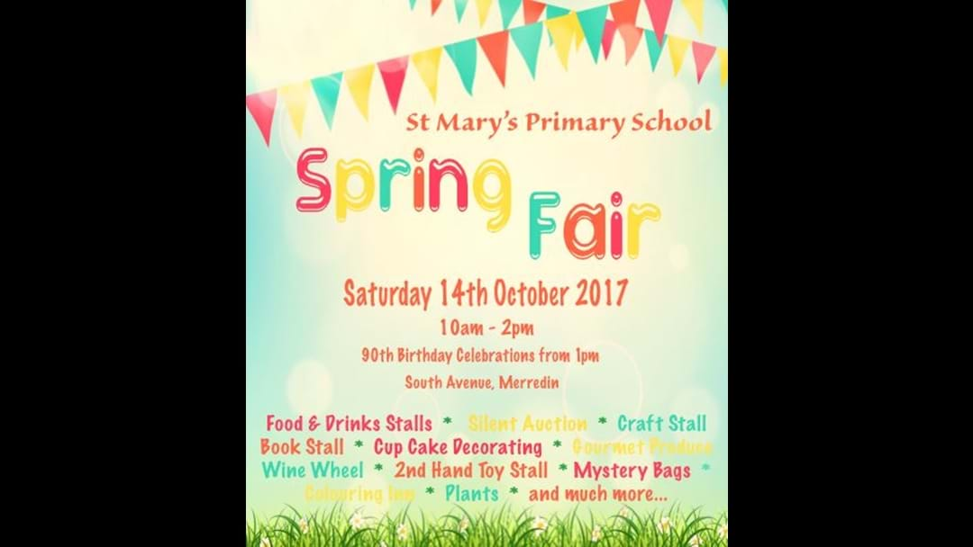 Spring Fair & 90th Celebrations