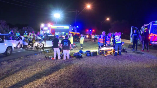 Woman critical after head-on crash with 14-year-old driver