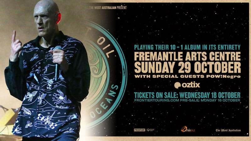 Article heading image for Peter Garrett On That EXCLUSIVE Freo Benefit Gig Just For #Perth