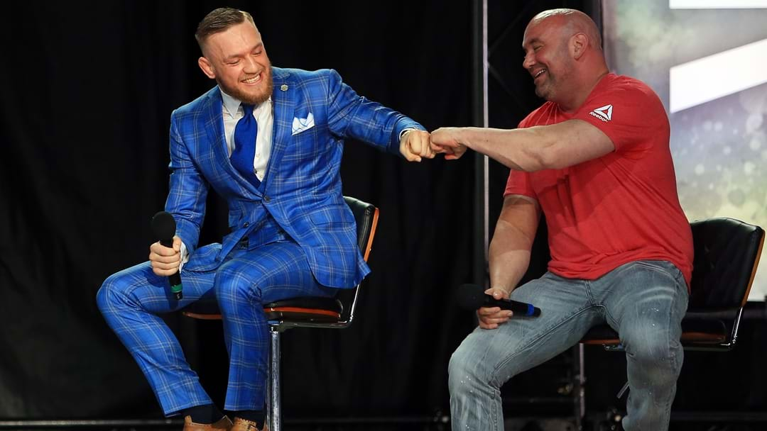 Conor McGregor Reveals He Is Currently In Contract Negotiations For His Next Fight