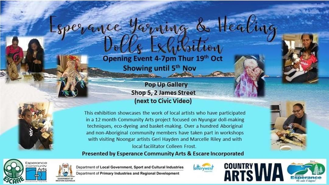 Esperance Yarning and Healing Dolls Exhibition
