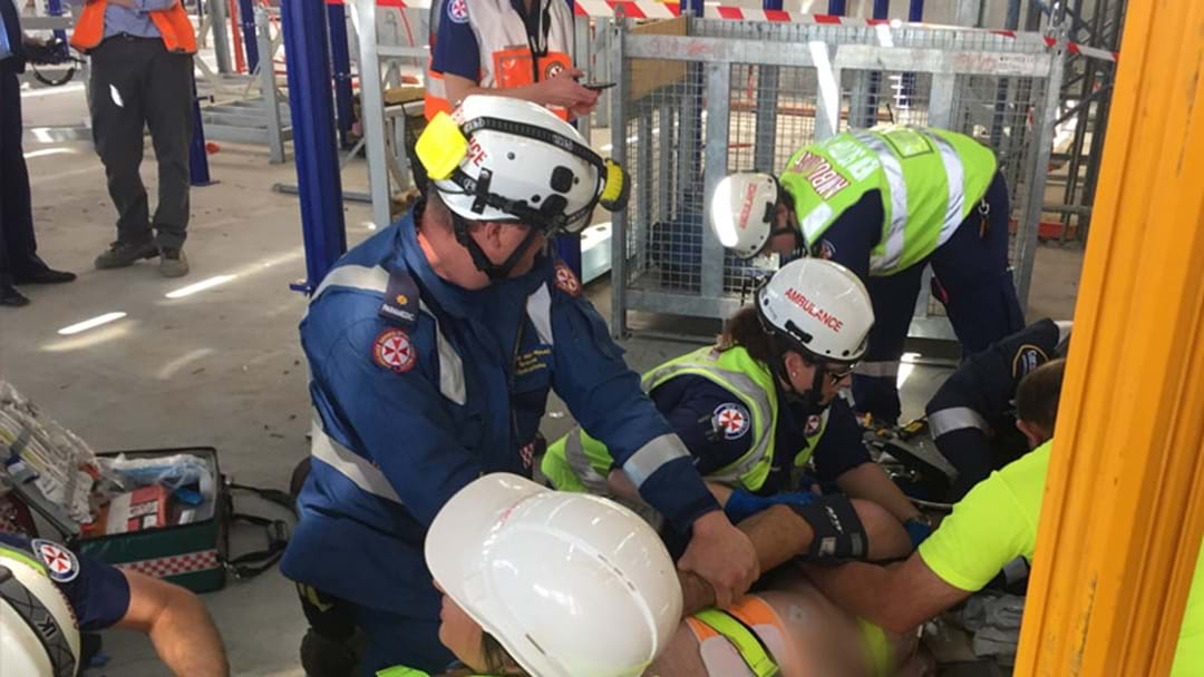Man Sustains Severe Head Injury After Construction Site Accident