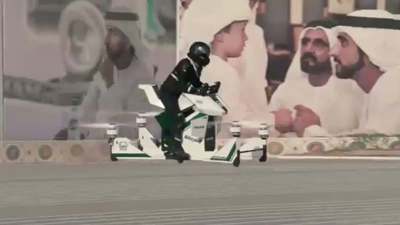 Article heading image for Cops In Dubai Are About To Start Getting Around On Actual Hoverbikes