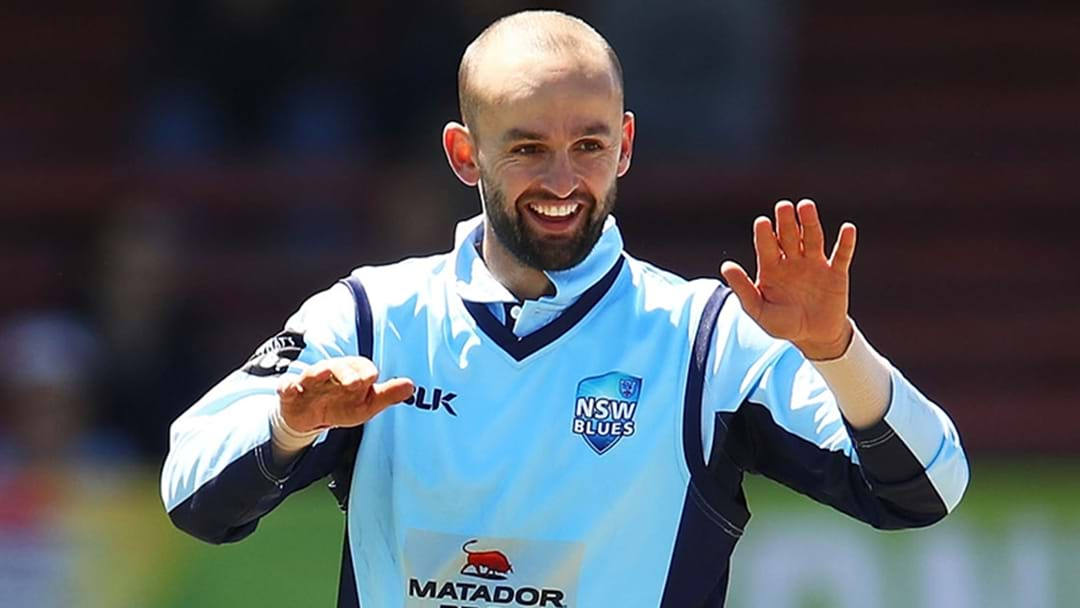 Injury Forces Nathan Lyon To Rest From JLT Cup Clash