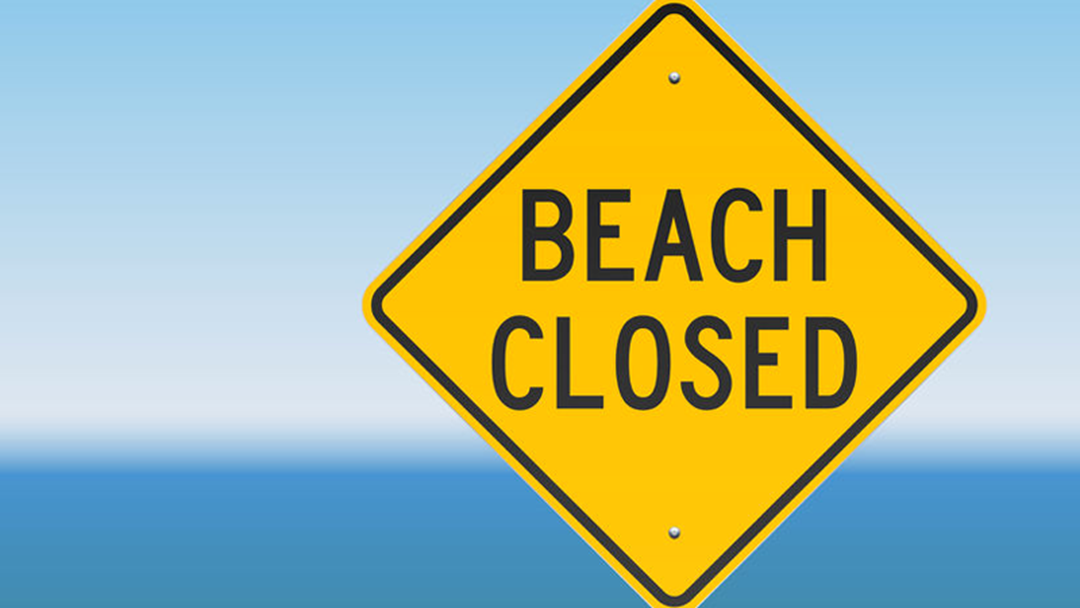 All Gold Coast Beaches Are Closed This Morning
