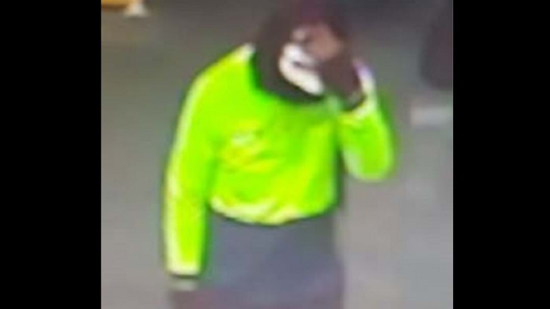 Fluro armed robber disappears into the night