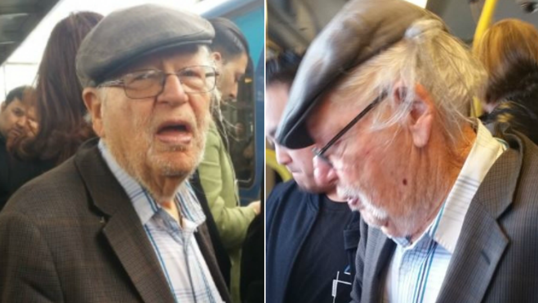 Police Hunt Elderly Creep Accused Of Sexual Assault On Melbourne Train