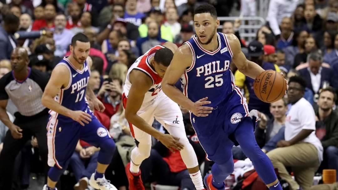 Ben Simmons Impresses On NBA Debut