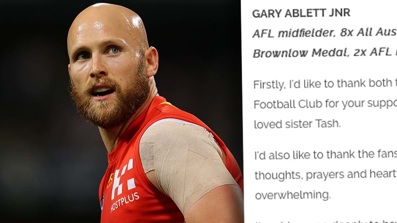 Article heading image for Gary Ablett Releases Statement After Being Traded Back To Geelong