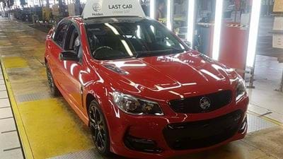 The Last Aussie Made Holden Has Rolled Off The Line