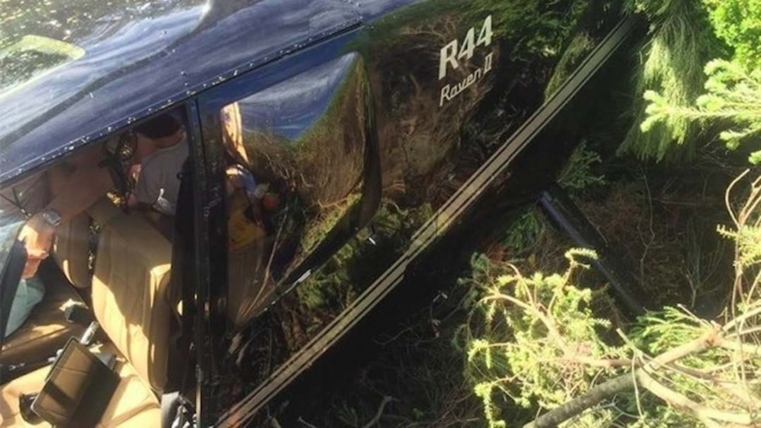 Four People Emerge Unscathed From Helicopter Crash After Pilot Pulls Off Amazing Landing