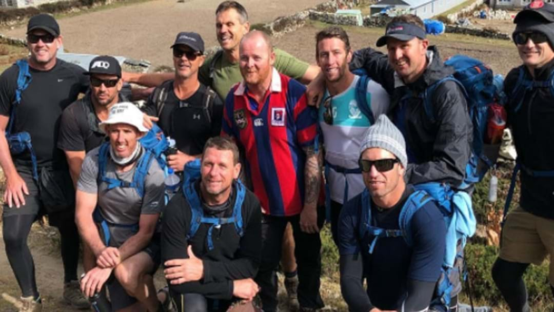 Newcastle Legends Run Into Knights Fan Whilst Climbing Mount Everest