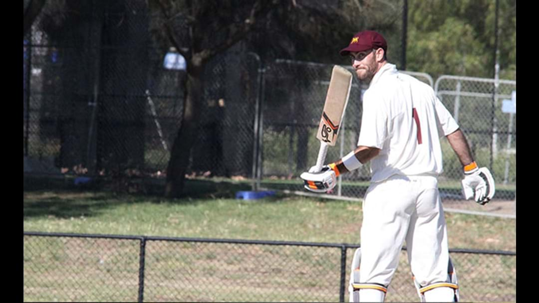 Glenn Maxwell Dominates The Second Day Of A Local Cricket Match