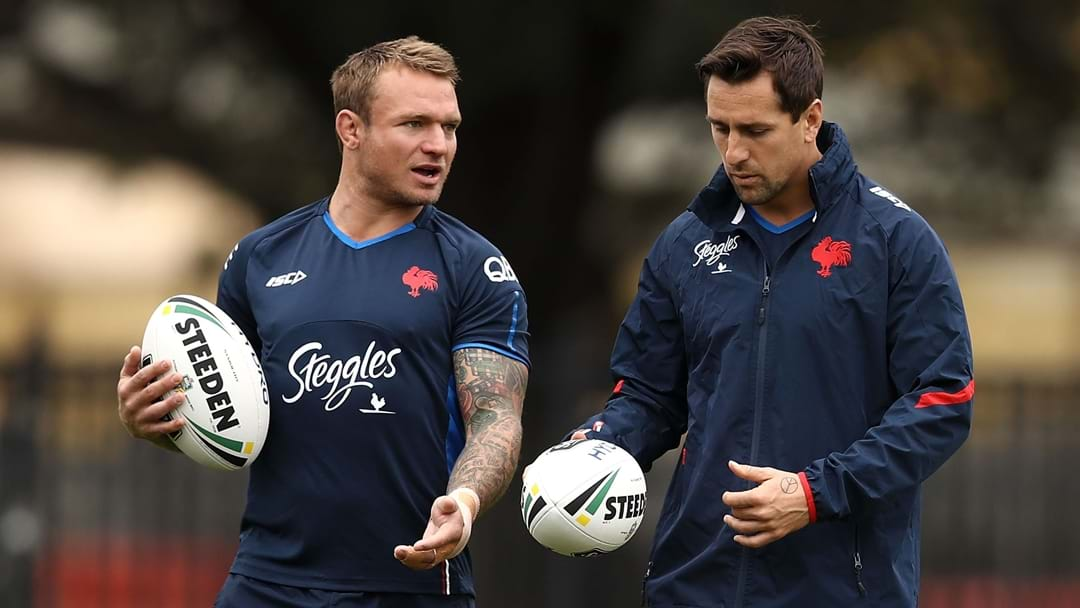 Jake Friend And Mitchell Pearce Going Nowhere According To Their Manager
