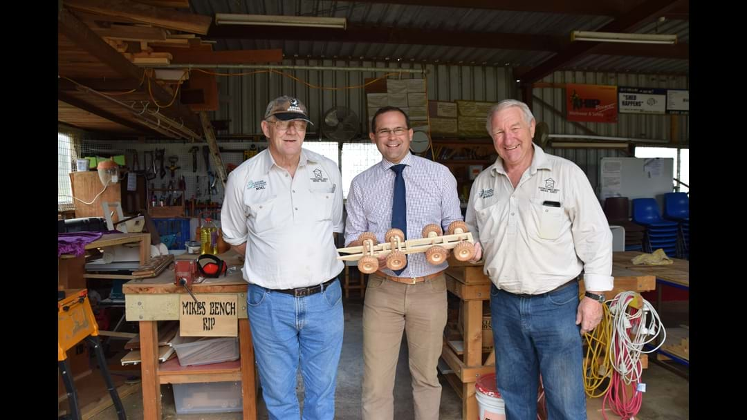 Toowoomba West Men's Shed Fosters Mateship and Morale in Older Men