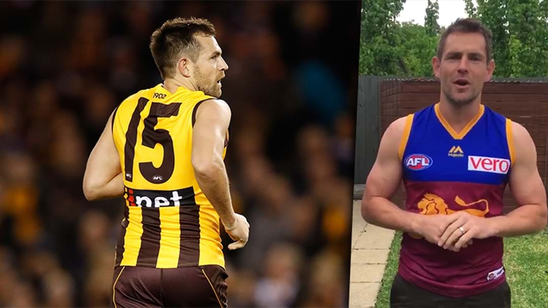 What Number Will Luke Hodge Wear At The Lions?