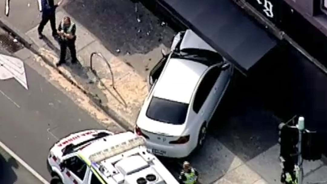 A Car Has Smashed Into Pub In Melbourne's North
