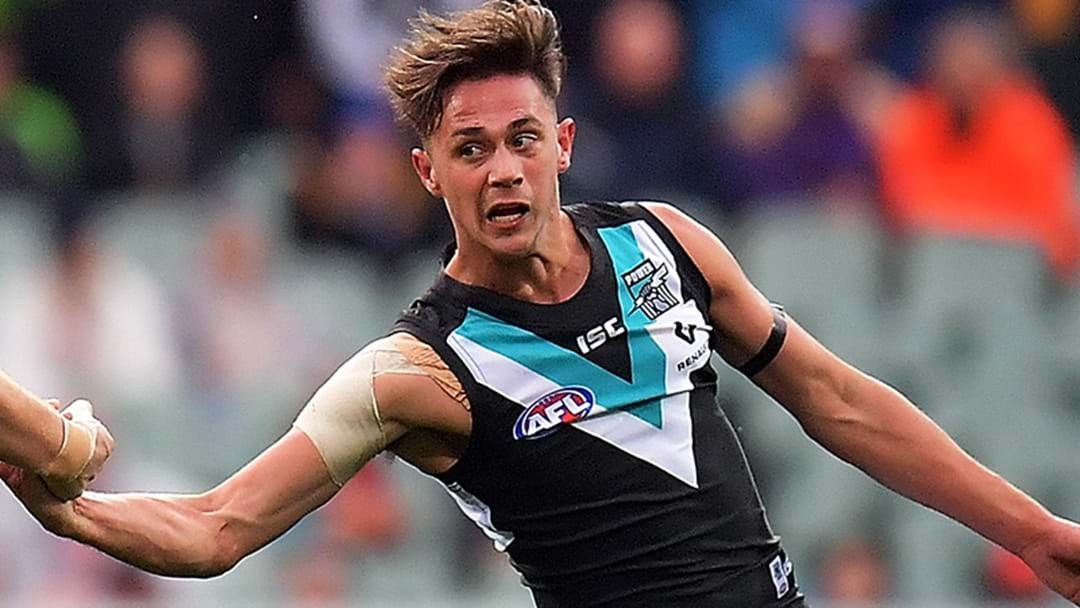 Port Adelaide Re-Sign Youngster
