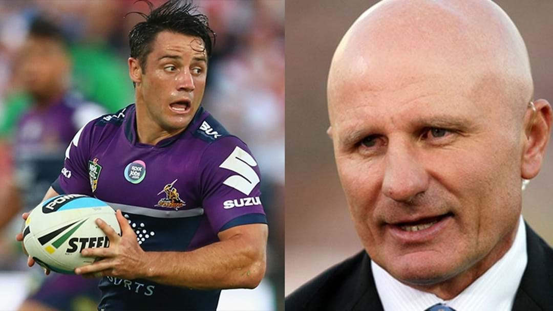 Sterlo Doesn't Want Cooper Cronk At The Eels