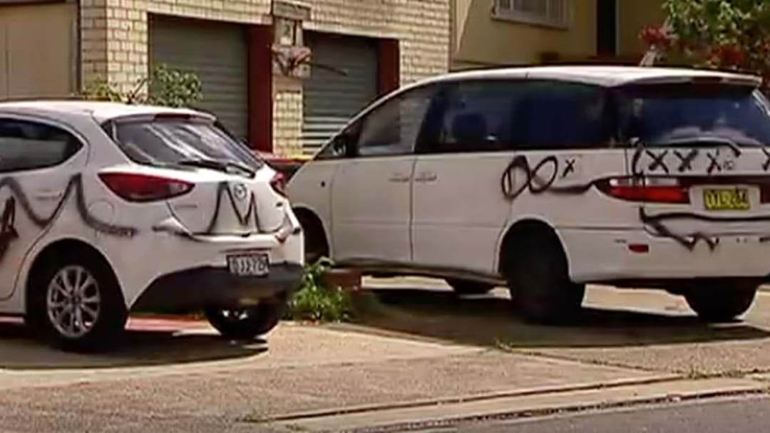Nearly 30 Cars Targeted By Vandals Overnight In Sydney's West