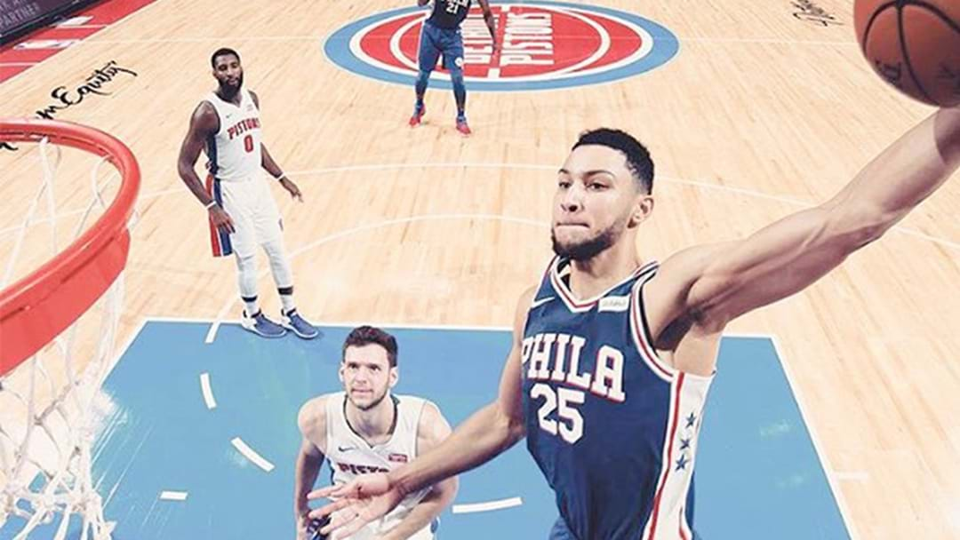 Records Tumble As Ben Simmons Absolutely Dominates His Fourth NBA Game