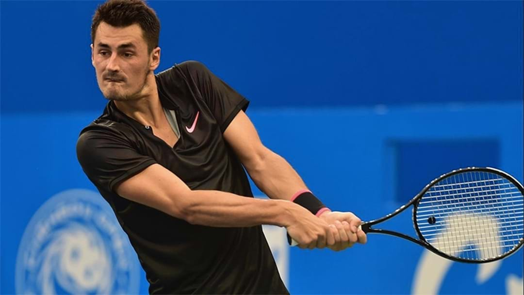 Bernard Tomic Serves Up His Softest Performance Yet