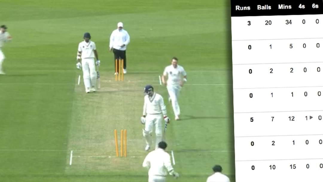 Is This One Of The Most One-Sided Cricket Scorecards Ever?