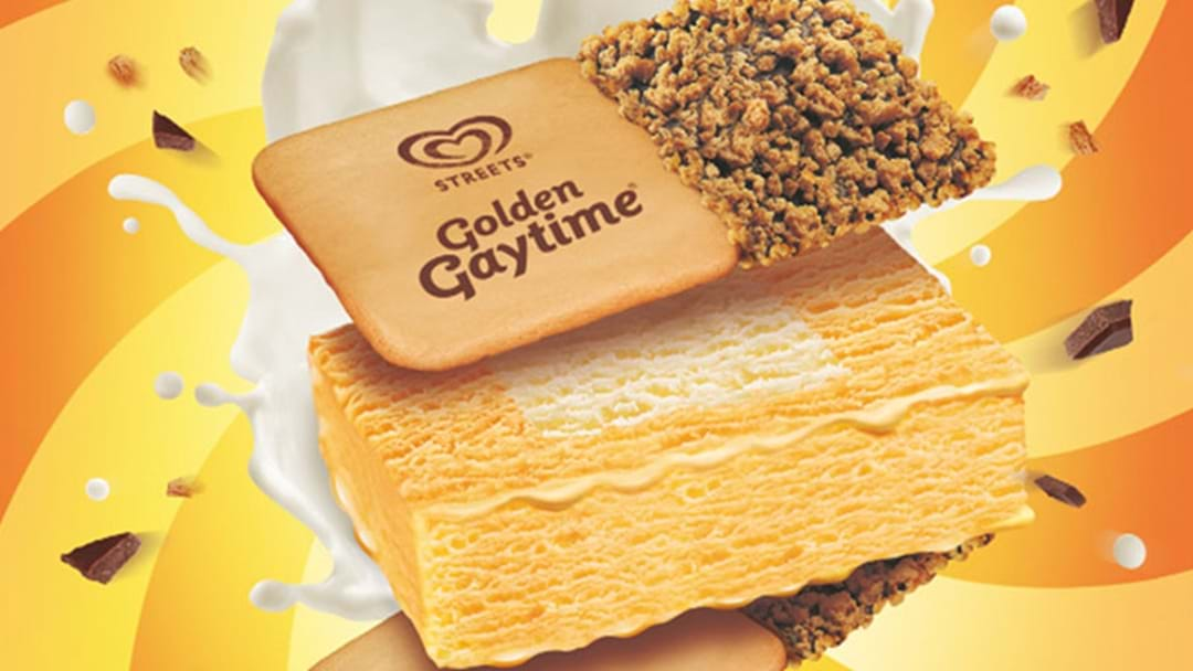 "Streets Have Finally Introduced The ""Golden Gaytime Sanga"""